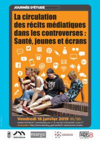 Journée d'étude sur «la circulation des récits médiatiques dans les controverses : santé, jeunes et écrans»